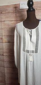 Signature Studio  Womens BoHo Tunic NWT